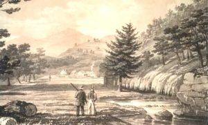 Hot Springs Creek, Arkansas, 1844