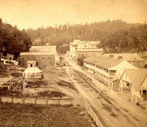 Hot Springs, Arkansas, by J.F. Kennedy, 1875
