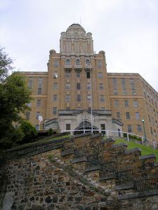 Old Army-Navy Hospital in Hot Springs, Arkansas by Kathy Weiser-Alexander.