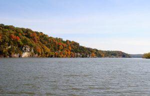 Lake of the Ozarks Near Warsaw, Missouri by Kathy Weiser-Alexander.