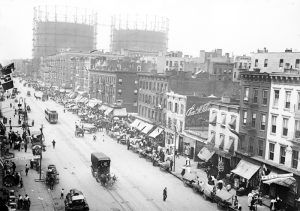 Little Italy on First Avenue, New York City by Bain News Service