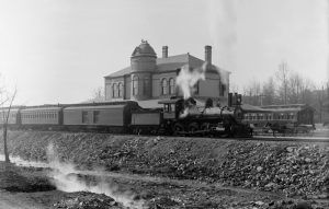Little Rock & Hot Springs Western Railroad, Hot Springs, Arkansas by Detroit Publishing, 1900