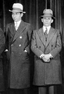Lucky Luciano and Meyer Lanksy