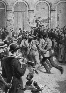 New Orleans citizens organized a lynch mob on March 14, 1891