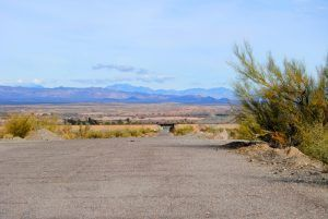 Old section of Route 66 in Needles, California by Kathy Weiser-Alexander.