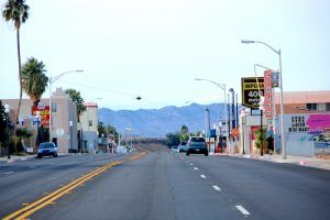 Route 66 in Needles, California by Kathy Weiser-Alexander.