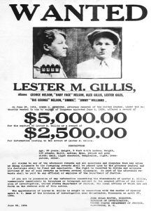 Lester Gilllis Wanted Poster