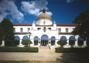 Quapaw Bathhouse in Hot Springs, Arkansas by the Historic American Buildings Survey.