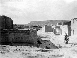 San Ildefonso Pueblo, New Mexico by Edward S. Curtis, 1905