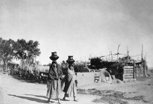Santa Clara Pueblo by Edward S. Curtis, 1905.