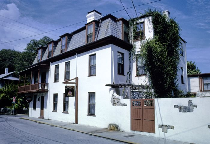 St. Francis Inn, St. Augustine, Florida by John Margolies, 1990.