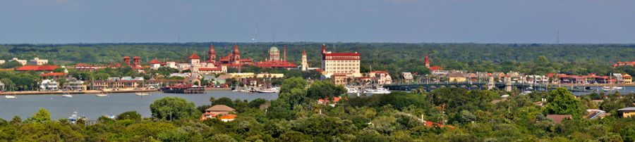 St. Augustine, Florida View by Mike Raker, Wikipedia
