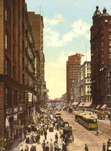 State Street, Chicago, Illinois, by Detroit Photographic Co., 1900