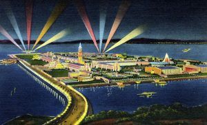 Treasure Island during the Worlds Fair of 1939.