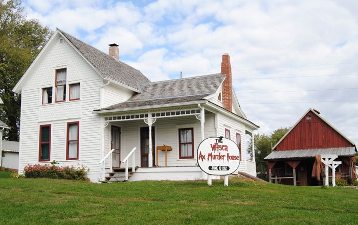 Ax Murder House in Villisca, Iowa by Kathy Weiser-Alexander