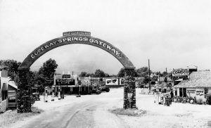Gateway to Eureka Springs, Arkansas.