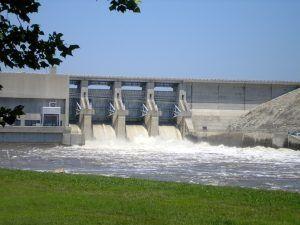 Truman Dam at Warsaw, Missouri by Kathy Weiser-Alexander.