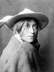 Whyay-Ring, Santa Clara Pueblo Man, by Edward S. Curtis, 1905