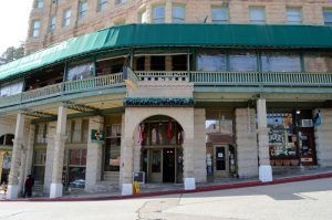 The Basin Park Hotel in Eureka Springs, Arkansas continue to cater to guests today. by Kathy Weiser-Alexander.