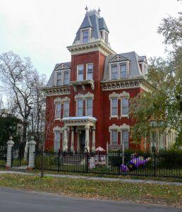 Jacob Henry Mansion, Joliet, Illinois by David Wilson, Flickr.