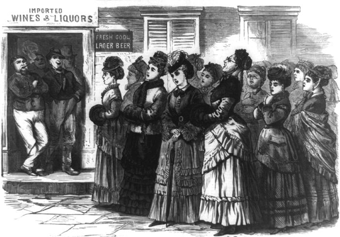 Temperance Movement, by S.B. Morton, 1874