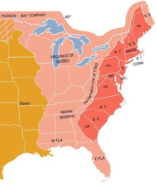 13 Colonies, 1775