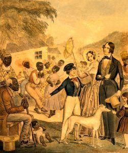 American Slavery by Edward W. Clay, 1841.