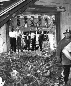 Baptist Street Church Bombing in Birmingham, Alabama, 1963