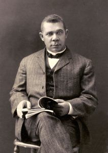 Booker T. Washington by Christopher E. Cheyne, 1903.