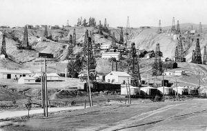 Brea Oilfield, California