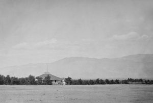 Camp Independence in Owens Valley, California by Timothy O'Sullivan, 1871.