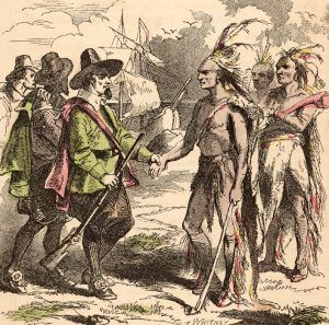 Early Colonists and Native Americans.