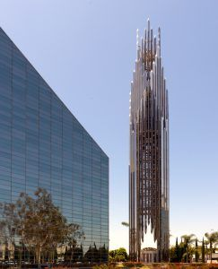 Crystal Cathedral in garden Grove, California by Carol Highsmith.
