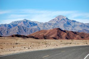Corkscrew Peak in Death Valley, California by Kathy Weiser-Alexander.