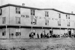 Drovers Cottage at Ellsworth, Kansas.