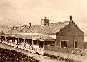 Fort Mason Barracks in 1905.