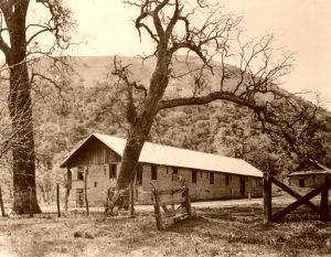 Fort Tejon, California in 1914