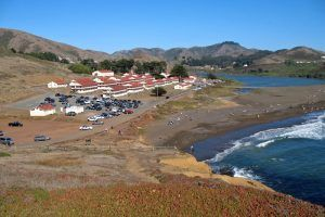 Fort Cronkhite and Rodeo Beach, Marin County, Calfifornia, courtesy Wikiepedia.