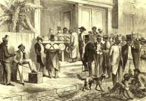 Freedmen Voting in New Orleans, 1867.