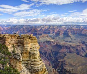 Mather Point at Grand Canyon National Park.