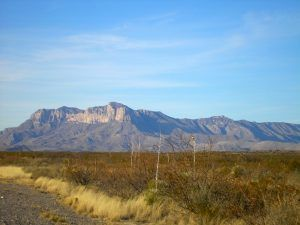 Guadalupe Mountains by Kathy Weiser-Alexander.