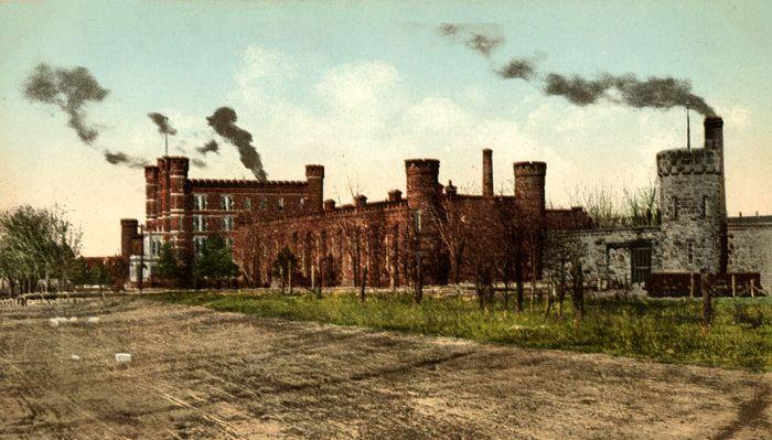 Kansas State Penitentiary at Lansing, Kansas, 1909.