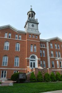 The University of St. Mary in Leavenworth Kansas by Kathy Weiser-Alexander.