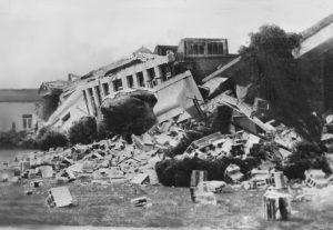 Long Beach, California Earthquake, 1933.