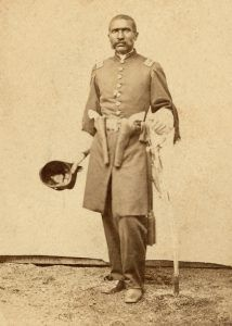 Lieutenant William D. Matthews, First Kansas Colored Infantry, Civil War.