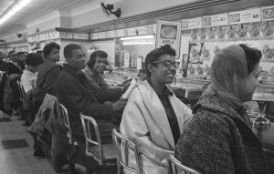 Lunch Counter Sit-In, Greensboro, North Carolina.