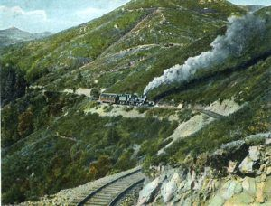 Mount Tamalpais, California Railroad