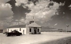 Salt Flat, Texas Cafe in its early years.