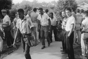 School integration in Clinton, Tennessee by Thomas O'Halloran, 1956.