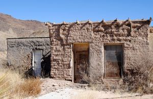 Old Storefront in Shafter, Texas by Kathy Weiser-Alexander